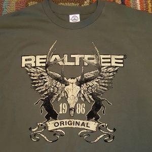 Realtree Hunting T Shirt 2XL